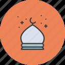 fort, mosque, taj, tomb icon