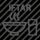 arabian, drink, food, iftar, kareem, meal, ramadan icon