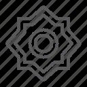arabian, arabic, el, hizb, islam, rub, star icon