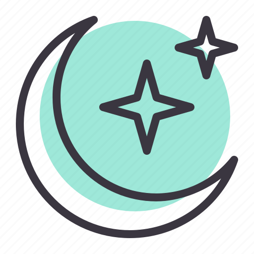 Crescent, islam, ramadan, star icon - Download on Iconfinder