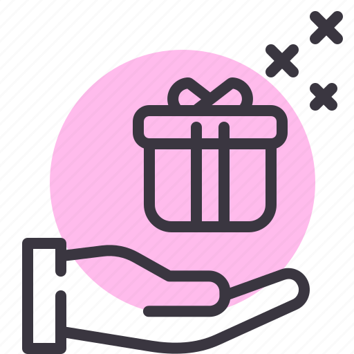 Birthday, gift, present, receive icon - Download on Iconfinder