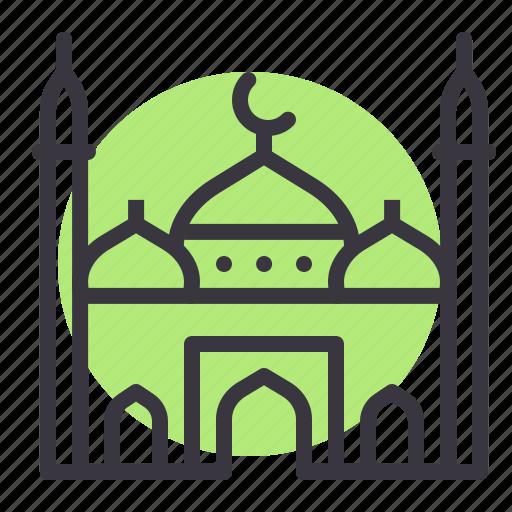 Islam, mosque, prayer, religion icon - Download on Iconfinder