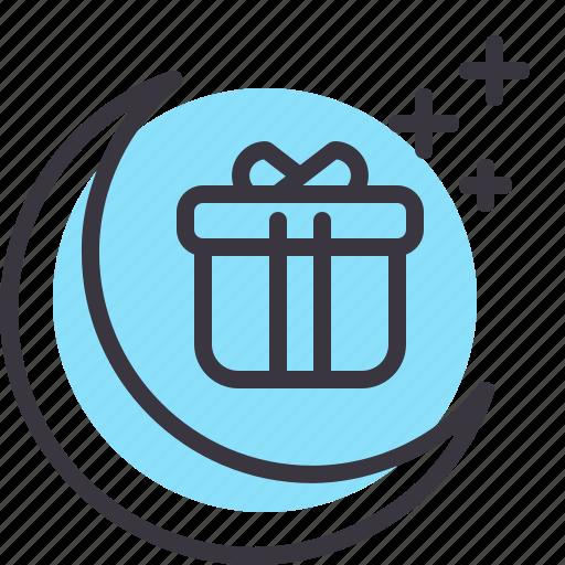 Celebration, gift, moon, ramadan icon - Download on Iconfinder