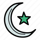 crescent, islam, ramadan, star