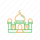 dome, eid, great, mosque, ramadan, shalat icon