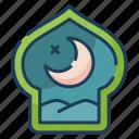 night, ramadan, islam, moon