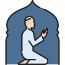 arabian, islam, mosque, muslim, prayer, ramadan, religion icon