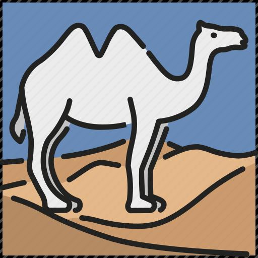 Animal, camel, desert, journey, mammal, tourism, travel icon - Download on Iconfinder