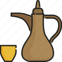 beverage, culture, drink, ethnic, islam, muslim, tea icon