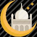 islam, moon, mosque, muslim, ramadan, religion, star