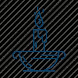 candle, islam, muslim, ramadan icon