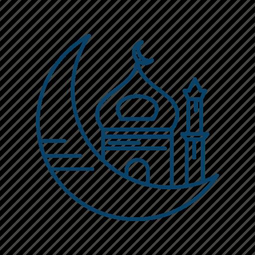 Islam, moon, mosque, muslim, ramadan icon - Download on Iconfinder