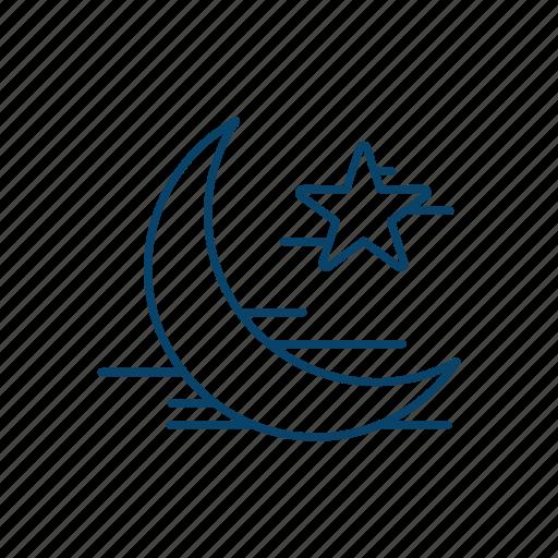islam, moon, muslim, ramadan icon