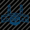 al, haram, islam, kabba, mosque, muslim, ramadan icon