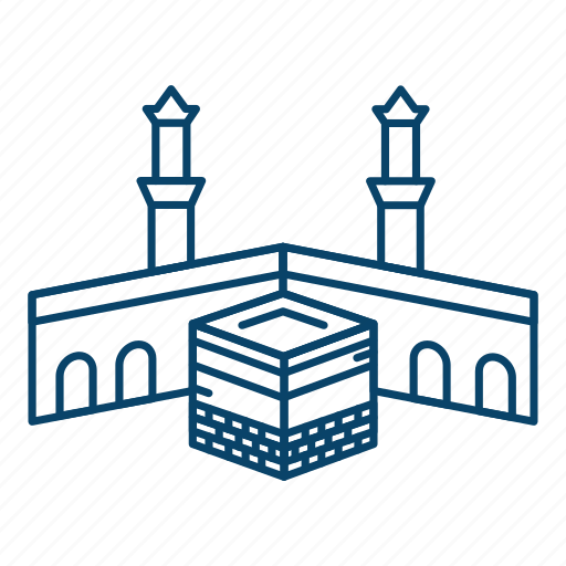 Kabba, muslim, mosque, ramadan, islam icon - Download