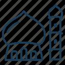 mosque, dome, pray, islam