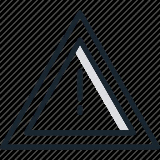 alert, alerts, attention, danger, info, warning icon