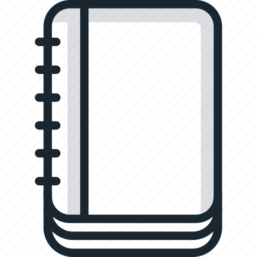 blocnote, book, contact, information, list, notepad, notes icon