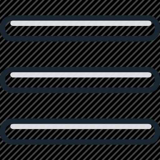 items, list, menu, to do icon