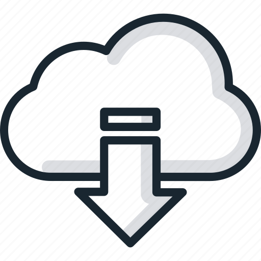 cloud, download, services, storage icon