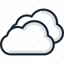 cloud, clouds, sky, weather icon