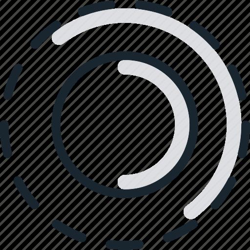 focus, form, inactive, input, radio icon