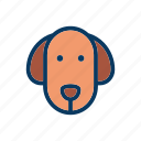 dog, puppy, random icon