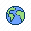 earth, planet, random, world icon