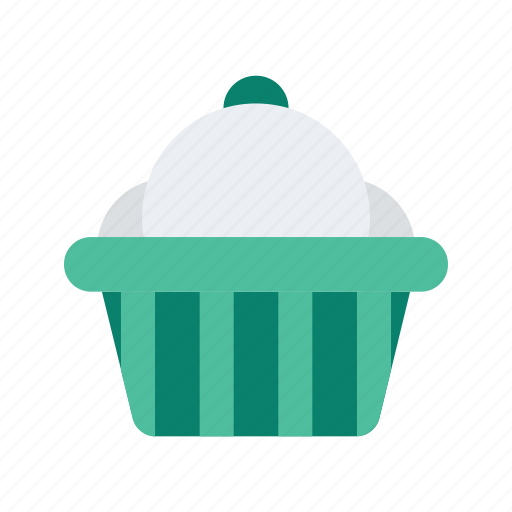 cupcake, dessert, food, pastry, snack icon