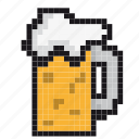 alcohol, bar, beer, beverage, drink, glasses, pint icon