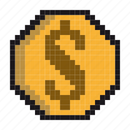 coins, currency, dollars, finance, financial, money, payment icon