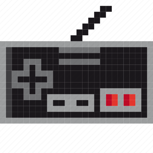 game, gaming, nes, nintendo, retro, retro-game, retro-gaming icon