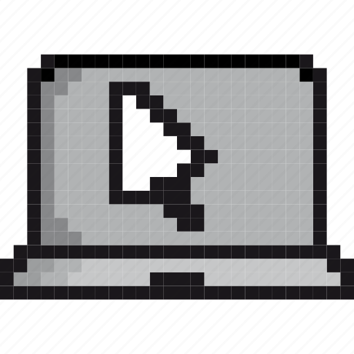 apple, click, computer, device, laptop, mouse, technology icon