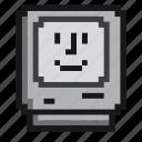 apple, computer, imac, mac, macintosh, screen, retro icon