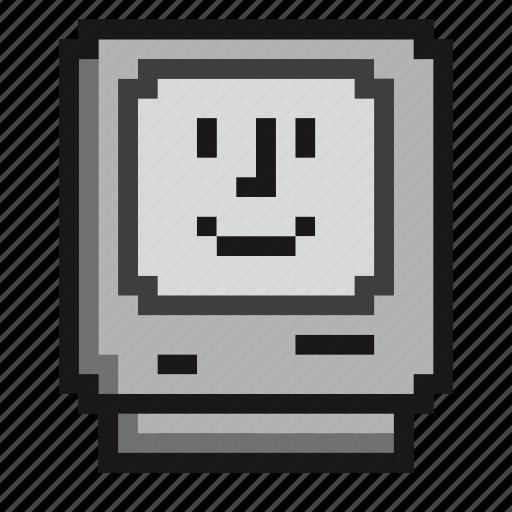 apple, computer, imac, mac, macintosh, retro, screen icon