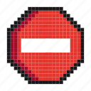 cancel, canceling, control, danger, forbidden, pause, stop icon