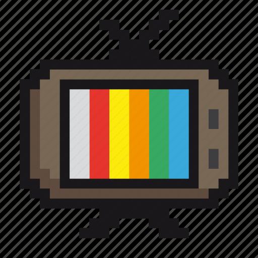 film, media, monitor, retro, screen, television, tv icon