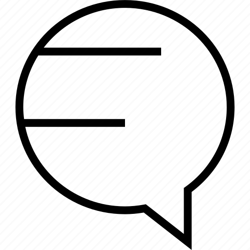 bubble, message, messaging icon