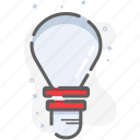 create, idea, lamp, new, think icon
