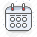 appointment, calendar, date, schedule, watch icon