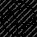 circle, line, random icon