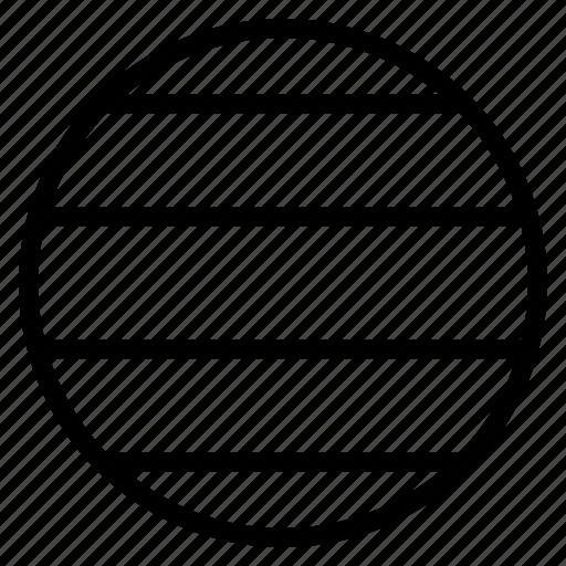 circle, layer, line, sphere icon