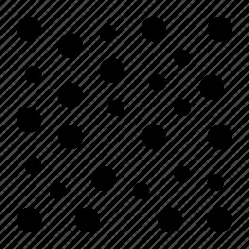 circle, dots, nodes, pattern, random, round icon