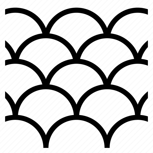 pattern, random, texture, wave icon