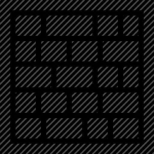 Brick, pattern icon - Download on Iconfinder on Iconfinder