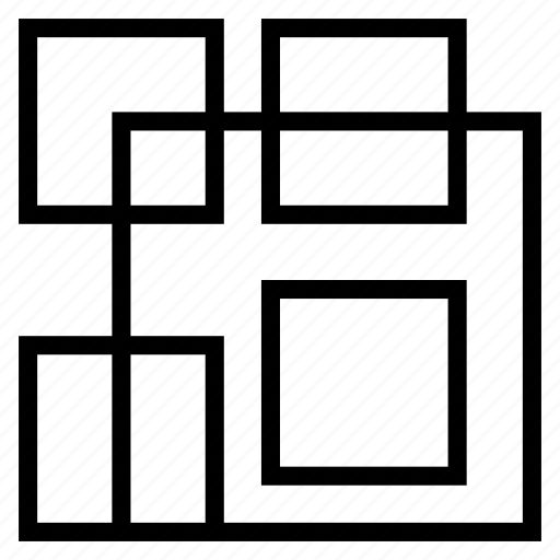 Pattern, random, squares icon - Download on Iconfinder