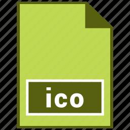 ico, icon file, raster file format icon