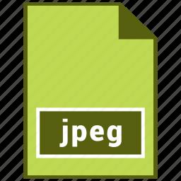 jpeg, raster file format icon