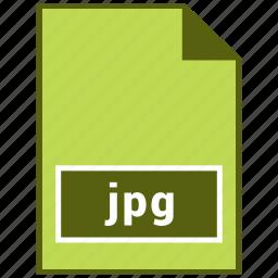 file, image, jpg, raster file format icon