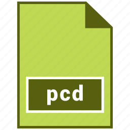 extension, image, pcd, raster file format icon